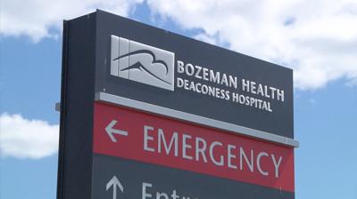 Bozeman Health Deaconess Hospital entrance sign