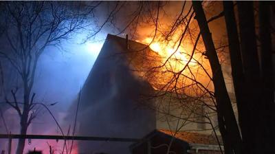 Multiple buildings involved in fire in Massachusetts