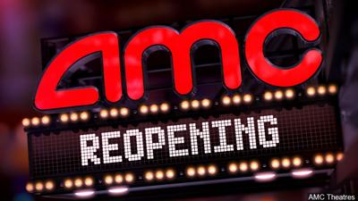 AMC Theatres plans global reopening