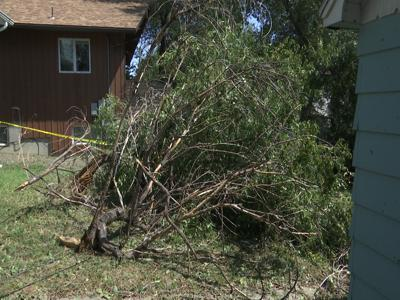 Storm damage impacts countless homes in the Magic City