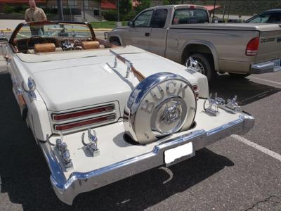 Buck Owens' car in Cody