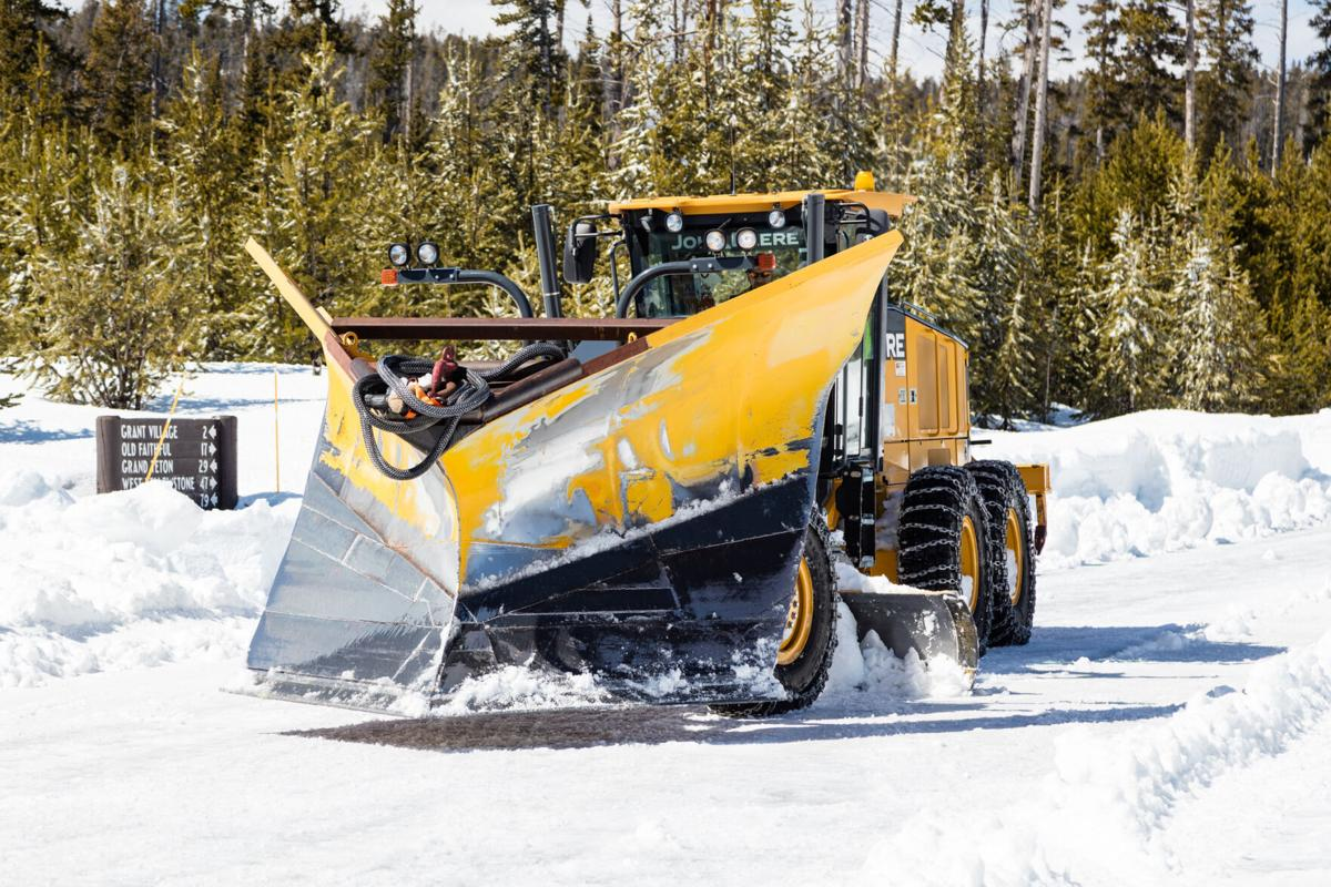 A Yellowstone V plow truck.
