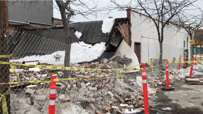 Missoula city building officials requiring Fran's roof collapse to get asbestos test