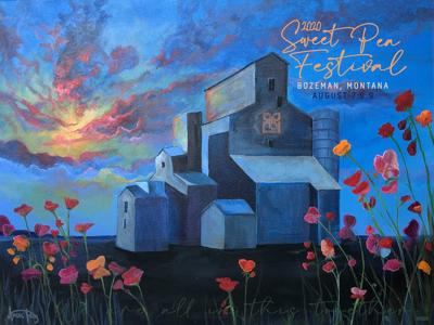 2020 Sweet Pea Festival poster announced