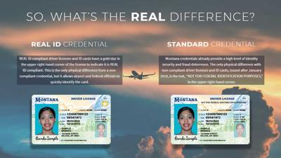 Federal government announces Montana is REAL ID compliant