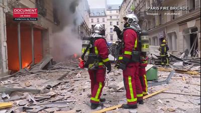 Paris gas explosion