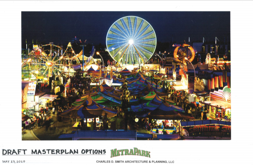 Future of MetraPark revealed in three proposed plans