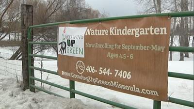 Nature kindergarten program