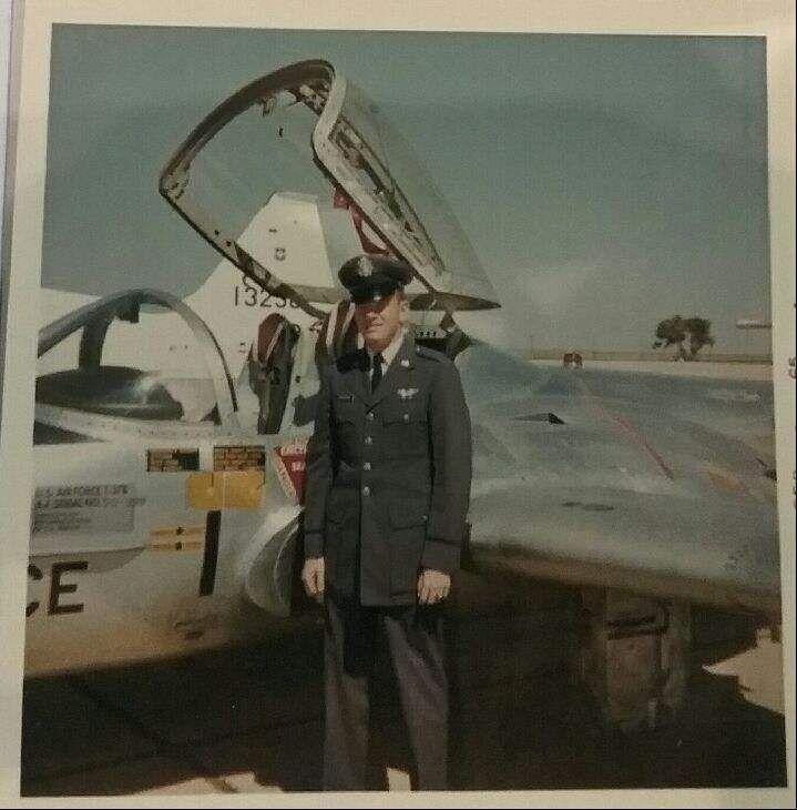 LT Krogman with jet