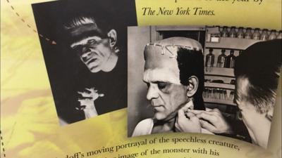 Traveling Frankenstein exhibit on display at MSU Billings Library