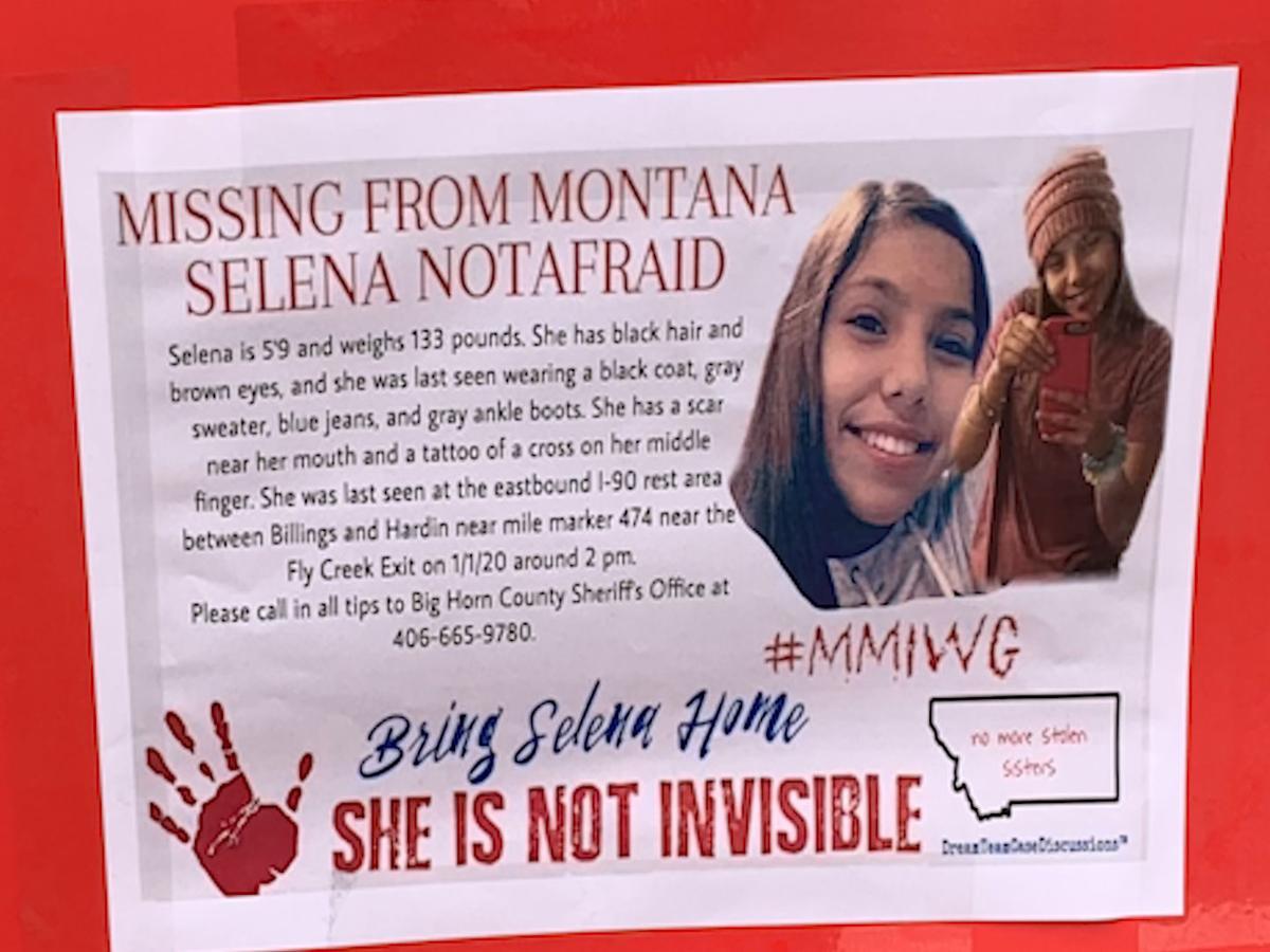 Dozens of Hardin High School students participate in vigil for Selena Not Afraid