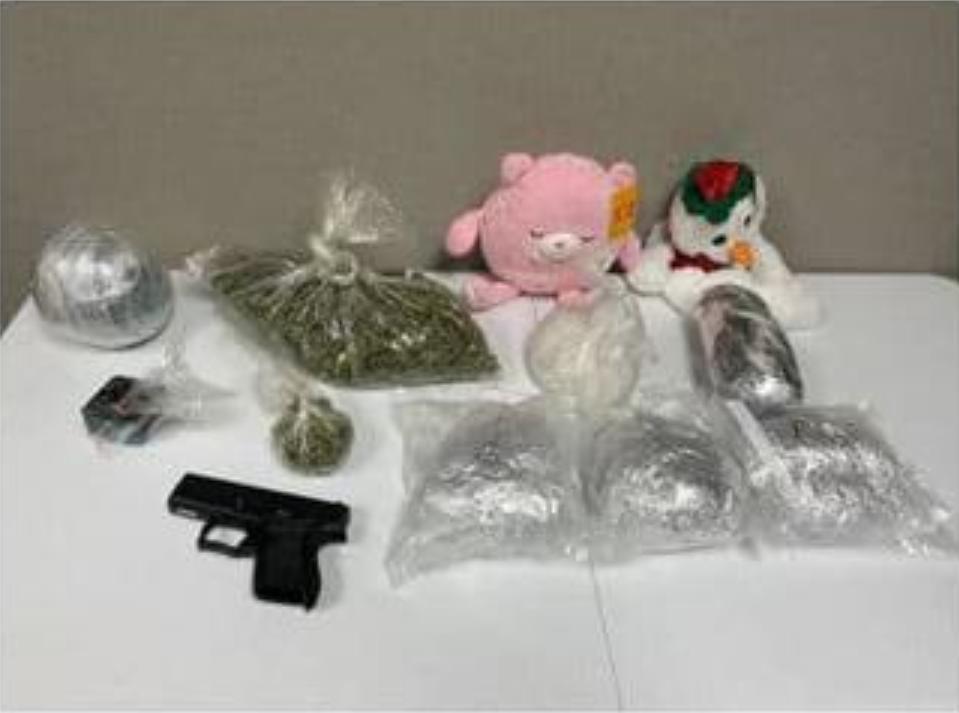 Flathead County Sheriff's Office drug bust