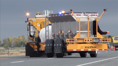 Western Wyoming to start using double wide snow plows