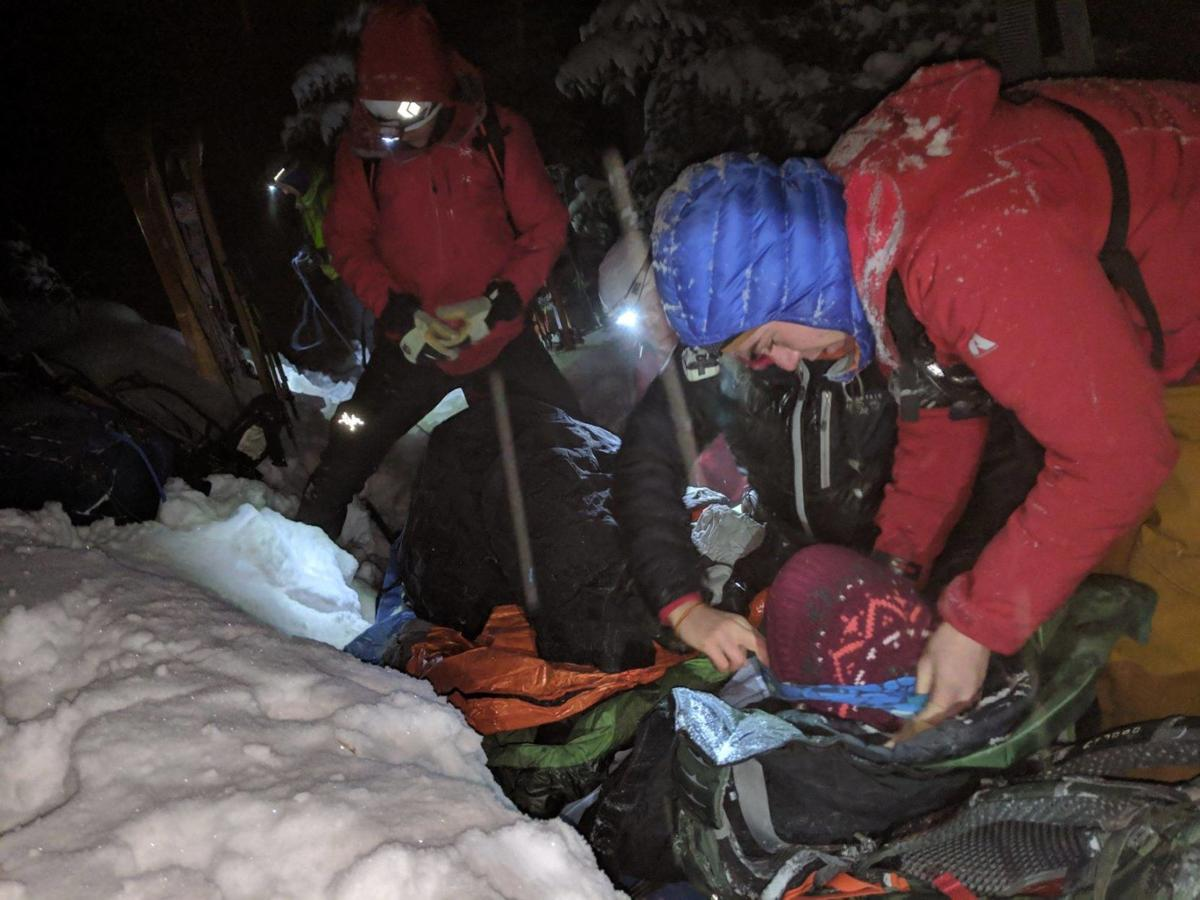 Missing hikers rescued