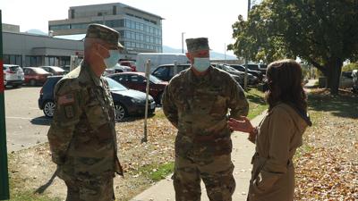 National Guard at Missoula hospital