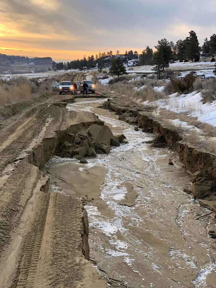 UPDATE: I-90 South to Wyoming remains closed from Hardin due