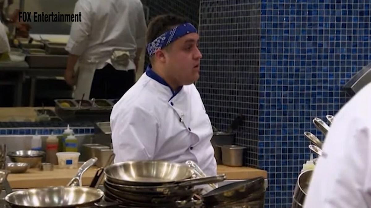 Great Falls native Antonio Ruiz competes on the newest season of Hell's Kitchen