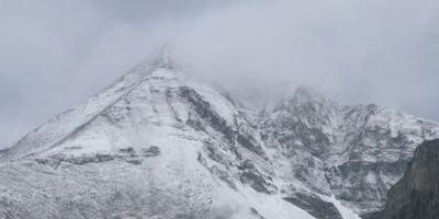 Snow reported at Lone Peak in Big Sky