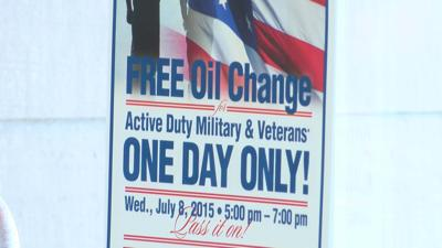 Free Oil Changes For Military Veterans At Tire Rama On Wednesday
