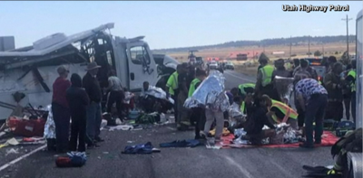 At least 4 killed in tour bus crash near Bryce Canyon National Park