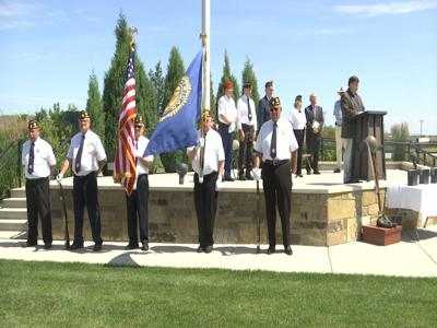 Unaccompanied veterans are commemorated at the Yellowstone National Cemetery