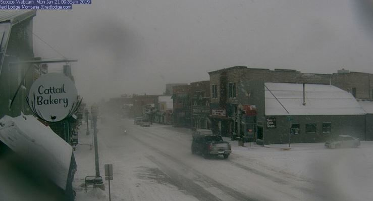 New Snow With Freezing Temperatures Bringing Slick Conditions Across Montana Weather Kulr8 Com