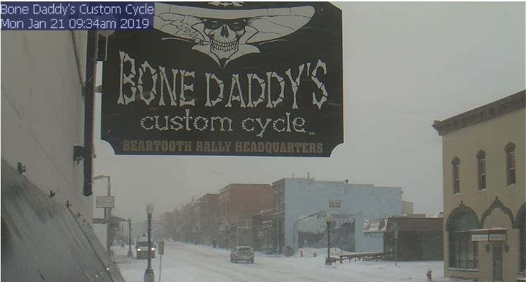 New snow with freezing temperatures bringing slick conditions across