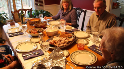 Holiday gatherings give rise to communual dishes often left out, tips to prevent foodborne illness