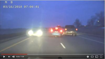 MHP releases video of near head on collisions with wrong way drivers