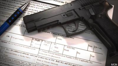 Background check gun