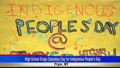 High school drops Columbus Day for Indigenous Peoples' Day