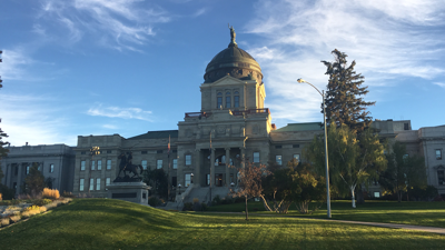 Montana State capitol building in Helena