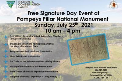 Pompeys Pillar Signature Day event