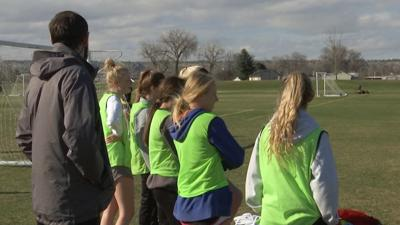 The Billings United U19 girls club soccer team