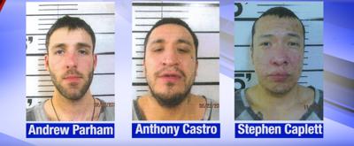 Parham, Castro, Caplett previous charges; Castro and Caplett captured by BPD