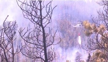 Evacuation order lifted for residents near the Bruner Mountain Fire