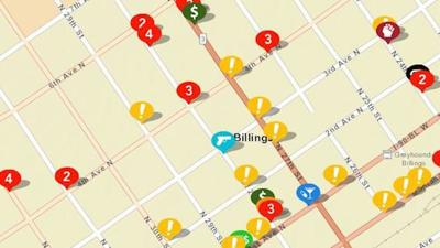 Billings Police Dept. launches crime map, Twitter account