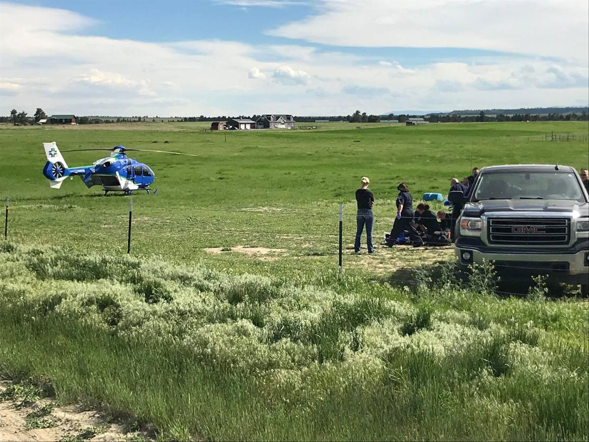 Woman injured in farming accident west of Billings | Local
