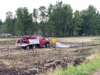 Section of Hwy. 212 reopens for traffic after brush fire