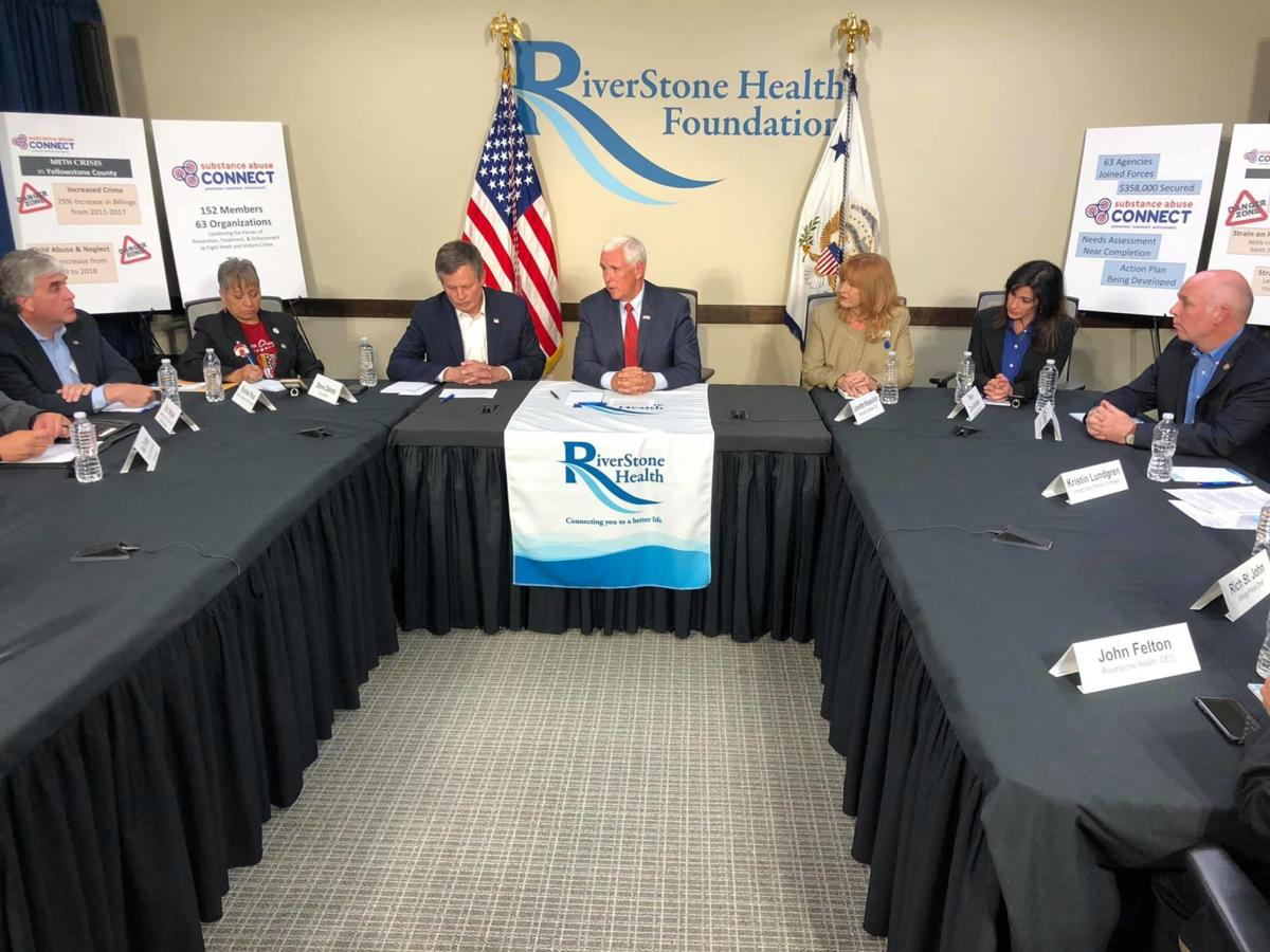 Vice President Mike Pence at RiverStone Health
