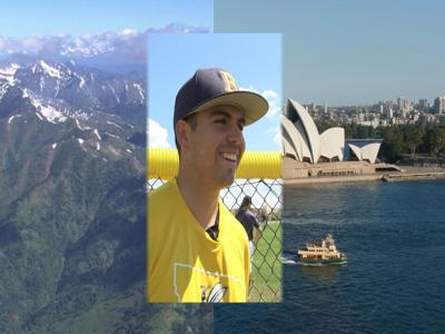 Aussie Pitcher Now Surrounded by Mountains