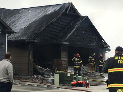 Billings firefighters knock out house fire