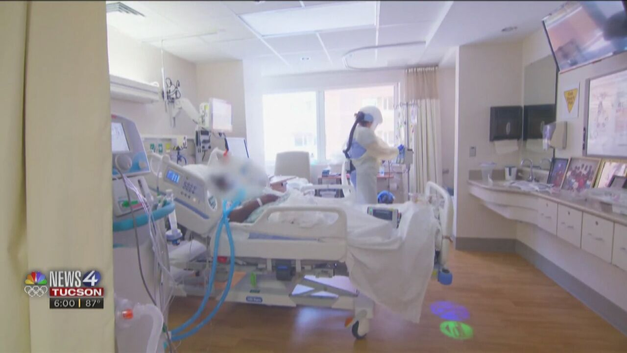 kvoa.com - Lupita Murillo - Delta variant could cause bed shortage in hospitals this winter
