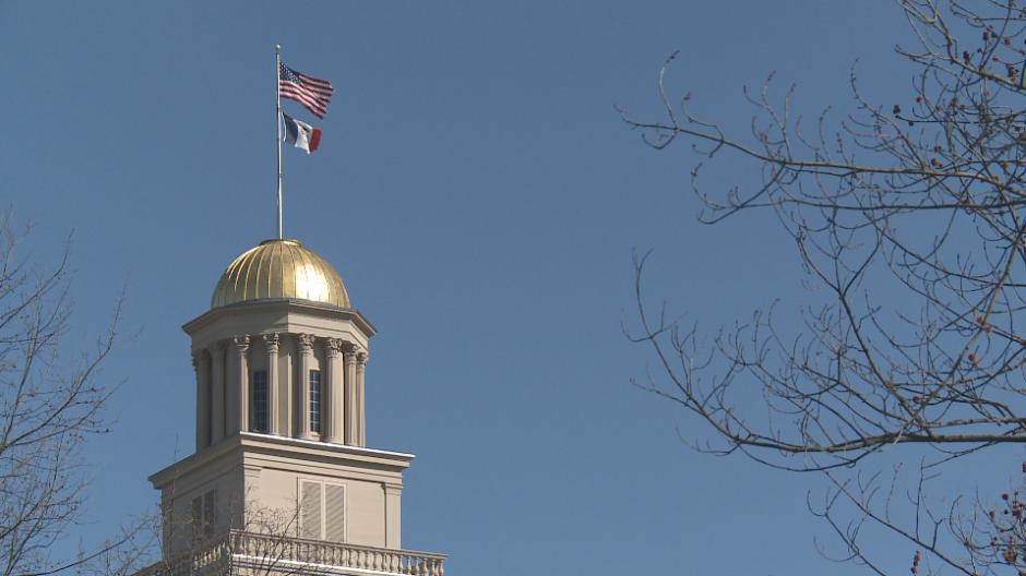 Old Capitol April