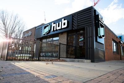 The Hub Main Office On Wednesday January 8 2019 Apartment Complex Will Open Fall Of Near North Uk Campus Photo By Michael Clubb Staff