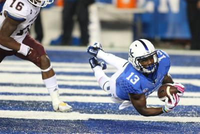 UK pulls out win over EKU, 34-27 in overtime