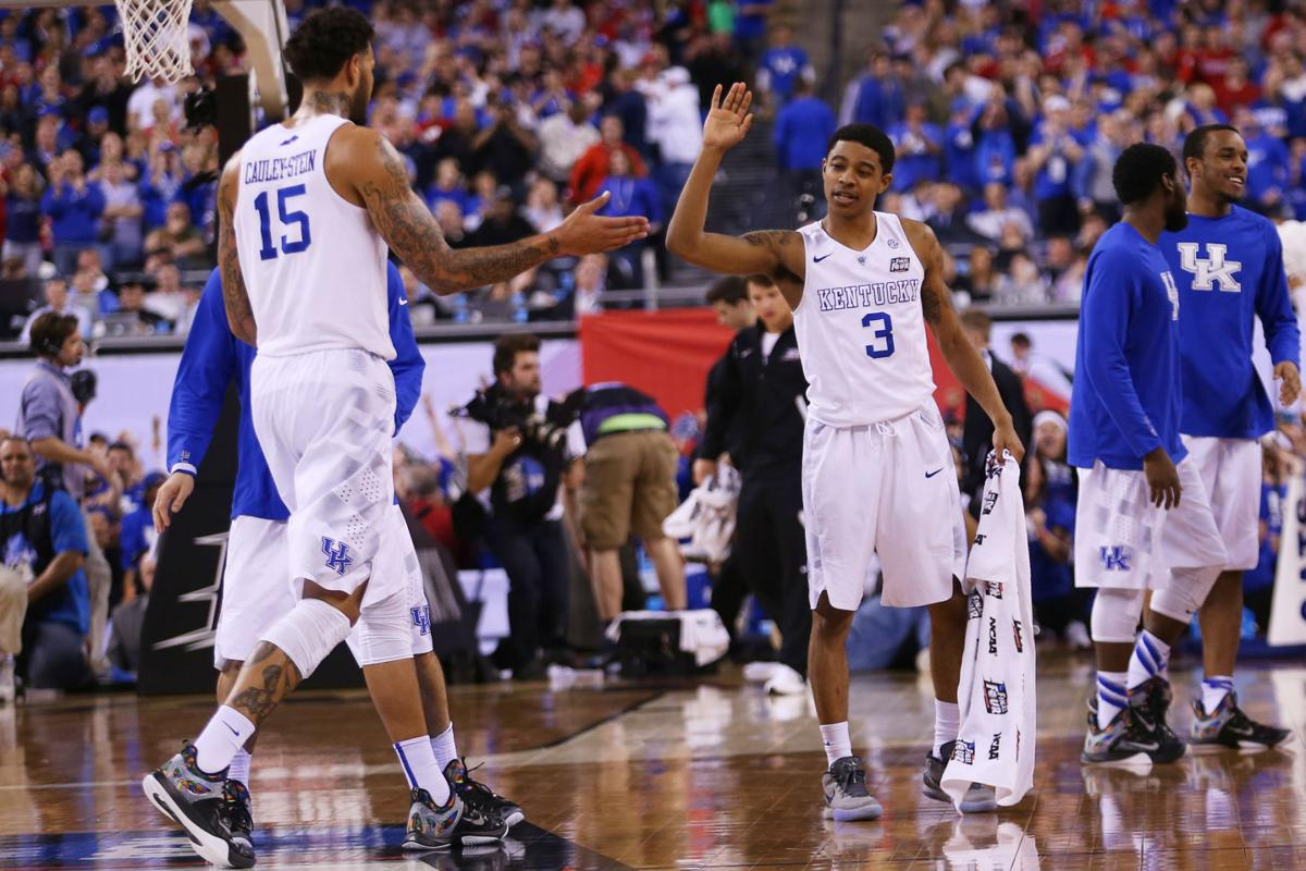 2015 NCAA Tournament Final Four: Kentucky Wildcats vs. Wisconsin