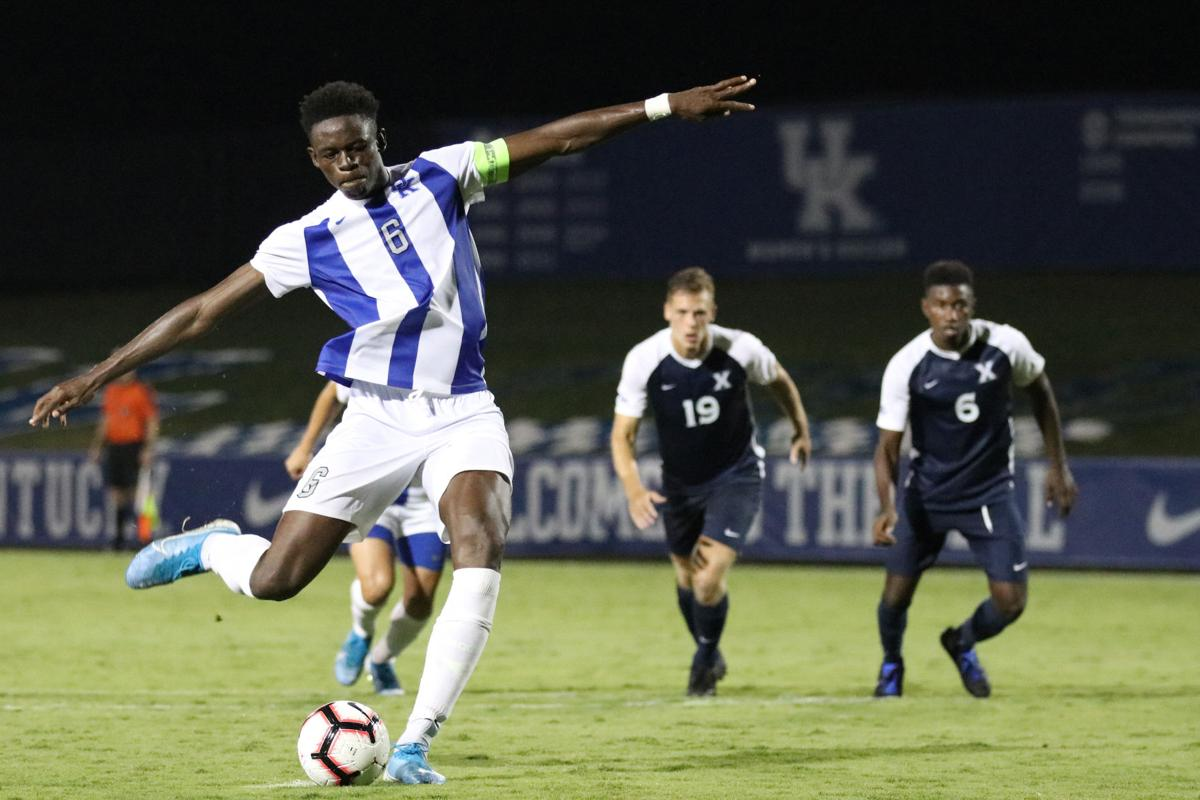 13- Kentucky Men's Soccer vs. Xavier