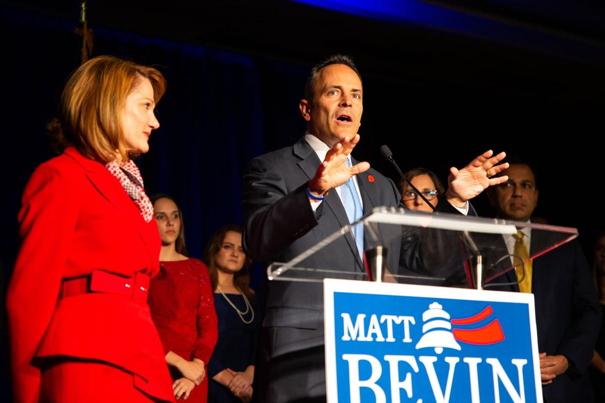 11:00:09 Bevin Election Night