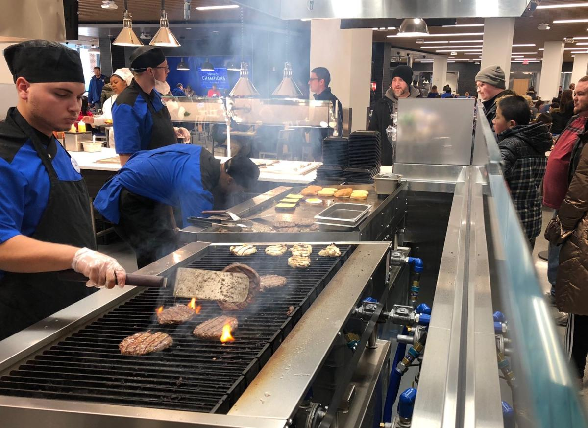New Student Center Opens First Phase With Residential Dining